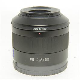 Used Sony FE 35mm f2.8 ZA Lens thumbnail