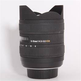 Used Sigma 8-16mm f/4.5-5.6 DC HSM - Nikon thumbnail
