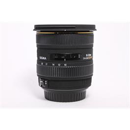 Used Sigma 10-20mm F/4-5.6 EX Canon fit thumbnail