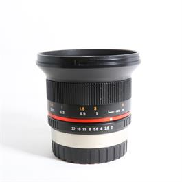 Used Samyang 12mm F/2 NCS Fuji X thumbnail