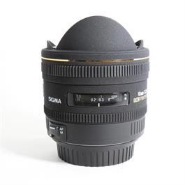 Used Sigma 10mm F2.8 DC HSM Fisheye Canon thumbnail