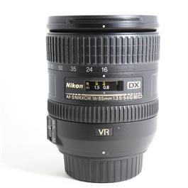 Used Nikon DX 16-85mm f3.5-5.6 ED VR thumbnail