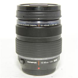 Used Olympus 12-40mm f2.8 Pro Lens thumbnail