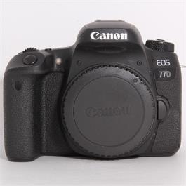 Used Canon 77D Body thumbnail