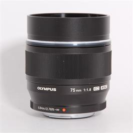 Used Olympus 75mm f/1.8 thumbnail