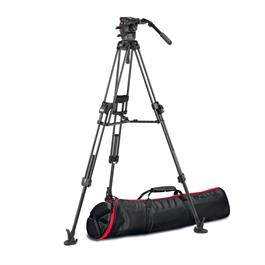 Manfrotto 526 Video Head with 645 Fast Twin Carbon Tripod thumbnail