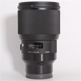 Used Sigma 85mm f/1.4 DG HSM Art - Sony E thumbnail