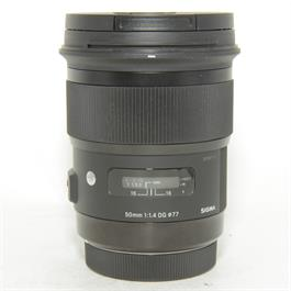 Used Sigma 50mm f/1.4 DG Art Canon Fit thumbnail