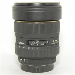 Used Sigma 12-24mm f4.5-5.6 Canon Fit thumbnail