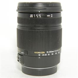 Used Sigma 18-250mm DC OS Canon Fit Lens thumbnail