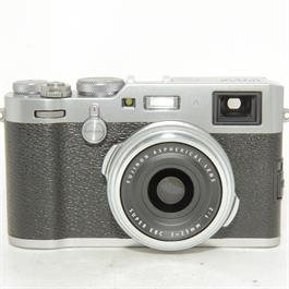 Fujifilm Used Fuji X100F Silver Compact Camera thumbnail