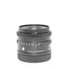 Used Sigma 45mm F/2.8 DG DN C L Mount thumbnail
