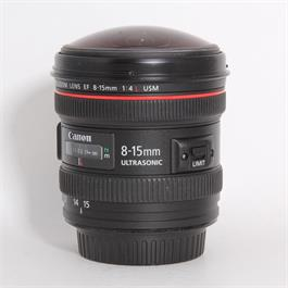 Used Canon 8-15mm f/4L USM Fisheye thumbnail