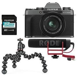 Fujifilm X-T200 + 15-45mm Vlogger kit  Dark Silver thumbnail
