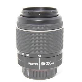 Used Pentax 50-200mm f4.0-5.6 ED WR thumbnail