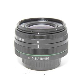 Used Pentax 18-50mm f4-5.6 HD DA DC WR thumbnail