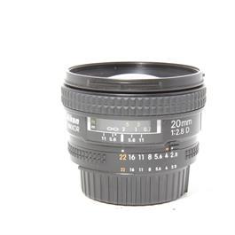 Used Nikon 20mm F/2.8D thumbnail