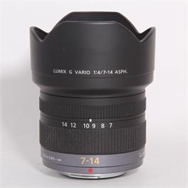 Used Panasonic 7-14mm f/4 ASPH thumbnail