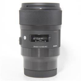 Used Sigma 35mm F/1.4 DG HSM Art L Mount thumbnail
