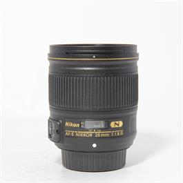 Used Nikon 28mm F/1.8G thumbnail