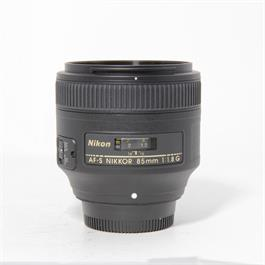 Used Nikon 85mm F/1.8G thumbnail