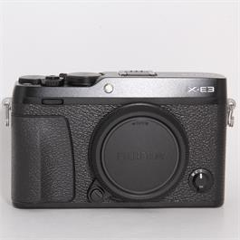 Used Fujifilm X-E3 Body thumbnail