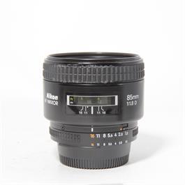 Used Nikon 85mm f/1.8 D thumbnail