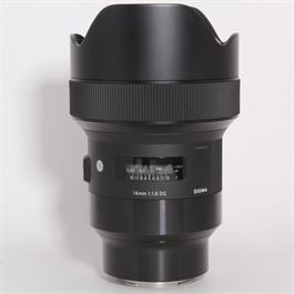 Used Sigma 14mm f/1.8 DG HSM Art - Sony E thumbnail