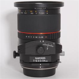 Used Samyang 24mm f/3.5 T-S ED AS UMC - Canon thumbnail