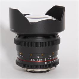 Used Samyang 14mm T/3.1 VDSLR II - Nikon thumbnail