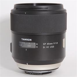 Used Tamron 45mm f/1.8 Di VC USD - Nikon thumbnail