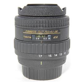 Used Tokina 10-17mm Fisheye Nikon Fit thumbnail