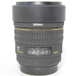 Used Sigma 14mm f2.8 EX Lens Canon Fit thumbnail