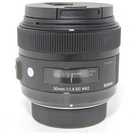 Used Sigma 30mm f/1.4 Art Lens Nikon Fit thumbnail