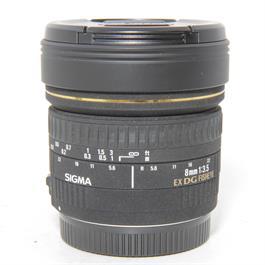 Used Sigma 8mm f3.5 Fisheye Lens Canon thumbnail