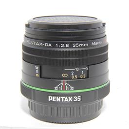 Used Pentax 35mm f2.8 Macro Limited Lens thumbnail