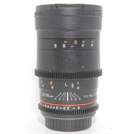 Used Samyang 135mm T2.2 Lens Canon Fit thumbnail