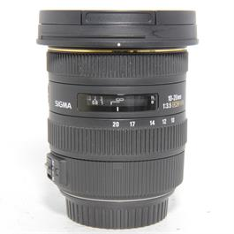 Used Sigma 10-20mm f/3.5 Lens Canon Fit thumbnail