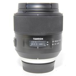 Used Tamron SP 85mm f/1.8 Lens Nikon Fit thumbnail