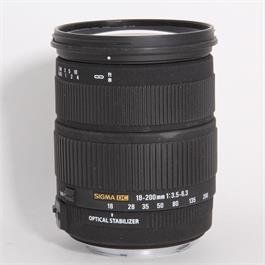 Used Sigma 18-200mm f/3.5-6.3 DC - Canon thumbnail