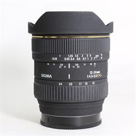 Used Sigma 12-24mm F/4.5-5.6 DG Sony A thumbnail