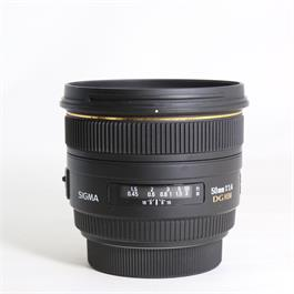 Used Sigma 50mm f/1.4 EX DG HSM Sony A thumbnail
