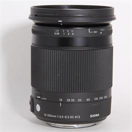Used Sigma 18-300mm F/3.5-6.3 DC OS HSM Macro Contemporary - Sony A  thumbnail