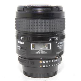 Used Nikon 60mm f2.8D Macro Lens Unboxed thumbnail