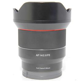 Used Samyang AF14mm f2.8 Sony FE Fit thumbnail