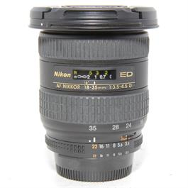 Used Nikon 18-35mm 3.5-4.5D Lens Unboxed thumbnail