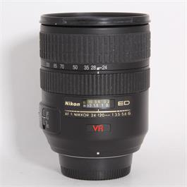 Used Nikon 24-120mm f/3.5-5.6G VR thumbnail