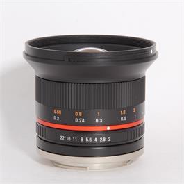 Used Samyang 12mm f/2 NCS CS - Sony E thumbnail
