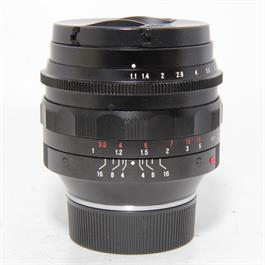 Used Voigtlander 50mm f1.1 Leica M Fit thumbnail