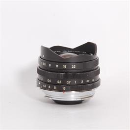Used Voigtlander 15mm F/4.5 Heliar VM III Leica M-Mount with viewfinder thumbnail
